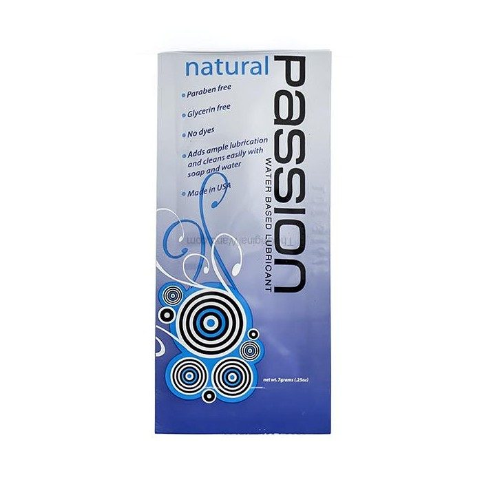 Passion Lube Single Use Pouch