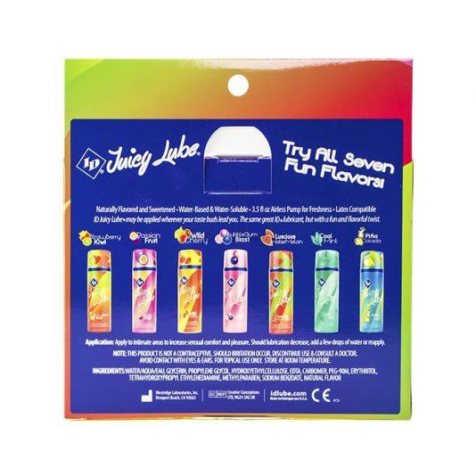 ID Juicy Lube Flavored Tubes 5 Pack