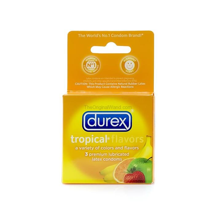 Durex Tropical Flavors